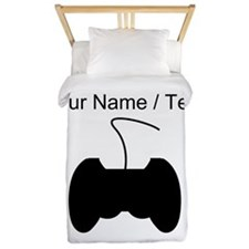 Custom Video Game Controller Twin Duvet