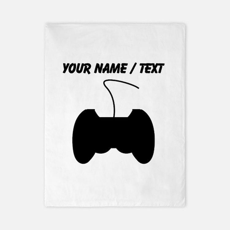 Custom Video Game Controller Twin Duvet