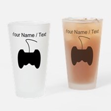Custom Video Game Controller Drinking Glass