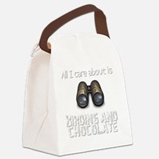 All I Care About Is Birding and C Canvas Lunch Bag