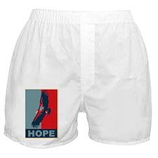 Hope: California Condor Birding T-Shi Boxer Shorts