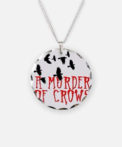 A Murder of Crows Birding T- Necklace