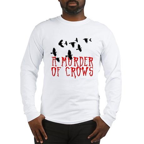A Murder of Crows Birding T-Sh Long Sleeve T-Shirt