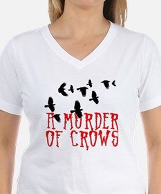 A Murder of Crows Birding T Shirt