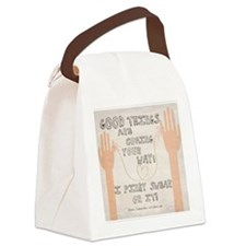 Pinky Swear Canvas Lunch Bag