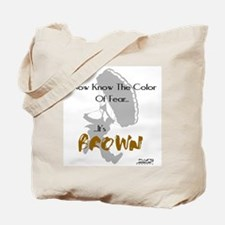The Color Of Fear Skydiving Tote Bag