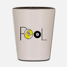 Word Pool Shot Glass
