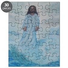 Jesus Walking On Water Puzzle