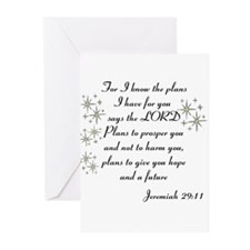 Jeremiah 29 Greeting Cards