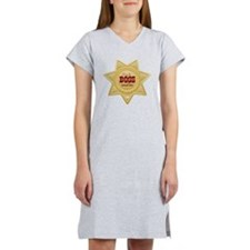 Little Sheriff Women's Nightshirt