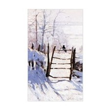 Claude Monet The Magpie Stickers