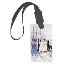 Claude Monet The Magpie Luggage Tag