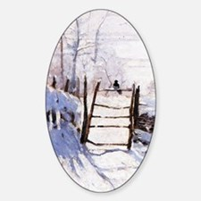 Claude Monet The Magpie Decal