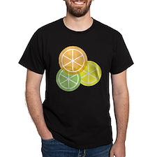 Summer Citrus - Transparent Backgroun T-Shirt