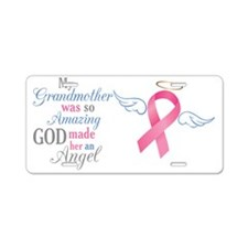 My Grandmother An Angel - Aluminum License Plate