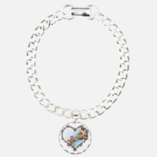 #Giraffe and Calf Brown  Bracelet