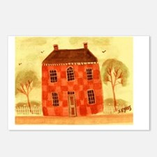 Checkered House Postcards (Package of 8)
