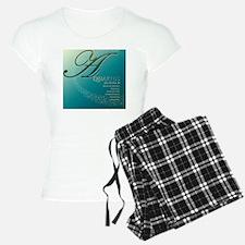 Aquarius Astrographix Pajamas