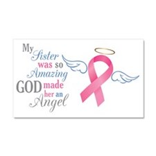 My Sister An Angel - Car Magnet 20 x 12