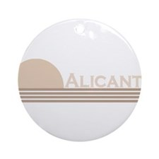Alicante, Spain Ornament (Round)