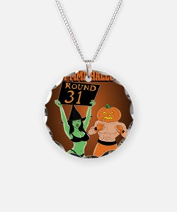 MMA Halloween Fighter and Ri Necklace