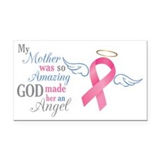 My Mother An Angel - Rectangle Car Magnet