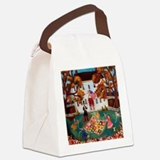 Quilting with Abe Lincoln Canvas Lunch Bag