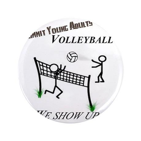 "SYA volleyball 3.5"" Button"