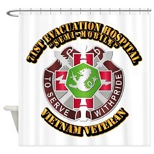 Army - 71st Evacuation Hospital Shower Curtain