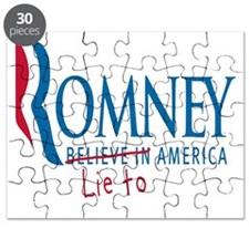 Romney - Lie to America Shirt Puzzle
