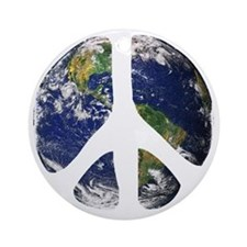 World Peace Round Ornament