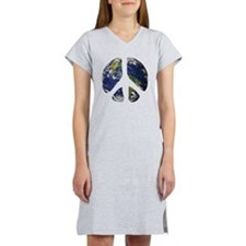 World Peace Women's Nightshirt