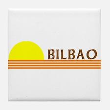Bilbao, Spain Tile Coaster