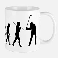 Evolved To Golf Mug