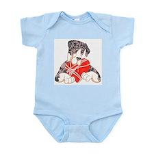 N MtlMrl notext heartstrings Infant Bodysuit