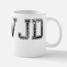 WWJD, Vintage Mug