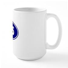 25k Oval - Navy Blue Mug