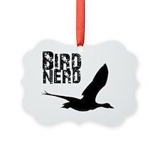 Bird Nerd (Goose) Birding T-Shirt Ornament