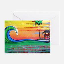 Drippy Island Greeting Card