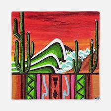 Cactus Point Queen Duvet