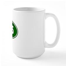 25k Oval - Forest Green Mug