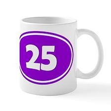 25k Oval - Purple Mug