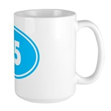 25k Oval - Sky Blue Mug