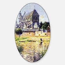 Monet Garden in Vetheuil Decal