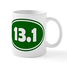 13.1 Oval - Forrest Green Mug