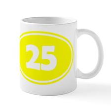 25k Oval - Yellow Mug