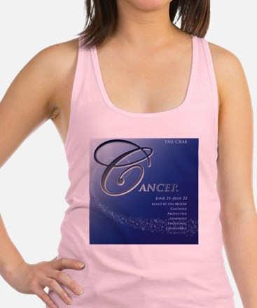 Cancer Astrographix Racerback Tank Top