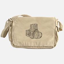 Old school photography Messenger Bag