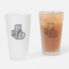 Old school photography Drinking Glass