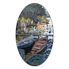 Monet Bathers at La Grenouillere Decal